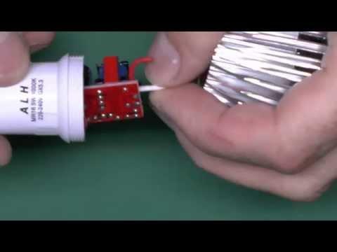 LED Lamp 240V With 12V GX5.3 Pin Connector