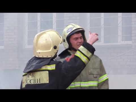 Киров пожар на ул Московской 78-1