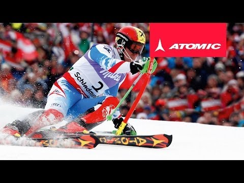 ATOMIC REDSTER MARCEL HIRSCHER SL 2014 | Exclusively designed by Marcel