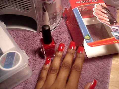 Sally Hansen Salon Effects Nail Polish Strips , a.k.a., a manicure