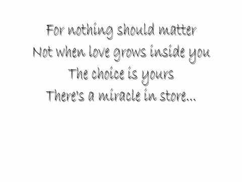 Whitney Houston - Miracle Lyrics