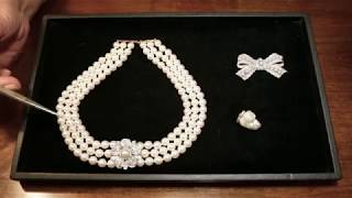 How to tell the difference between pearls with Joanna Hardy at Bentley & Skinner