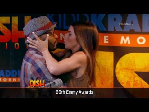 Big Al and Jenna Kiss!