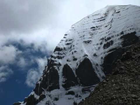 Holy Mount Kailash And Holy Lake Manasa Sarovar