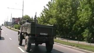 Unimog in Moscow