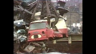 British binmen   Collecting Rubbish   Dustbin Lorry   The Protectors   1972
