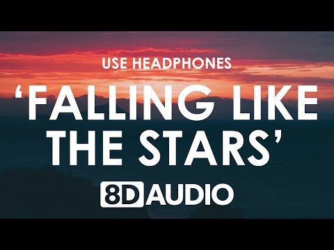 James Arthur - Falling Like The Stars (8D AUDIO) 🎧