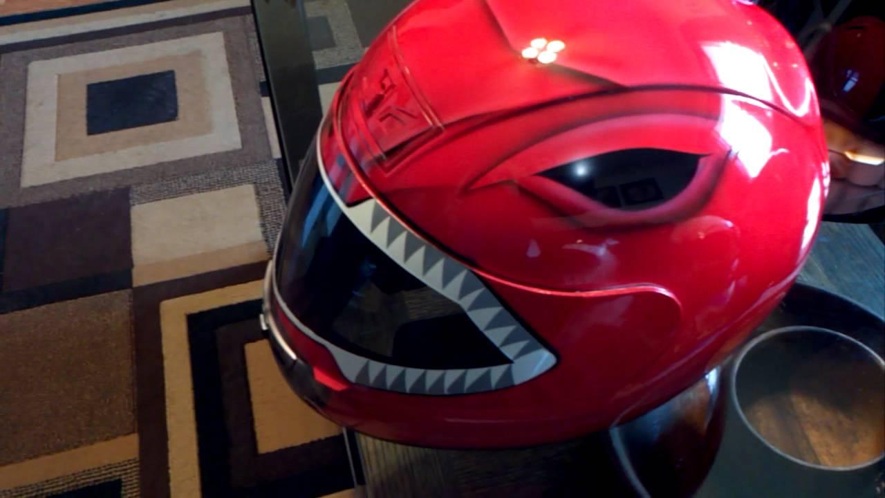 Red Turbo Ranger Helmet Red Power Ranger Custom