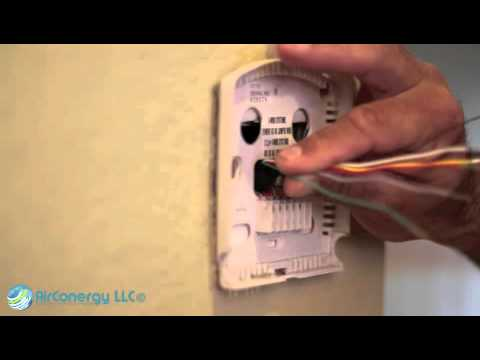 HVAC Smart Chip Installation Instructions Thermostat Best Video- Mobile Cell Phone