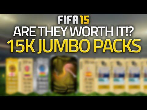 FIFA 15 - IN FORM! 15K JUMBO PACKS LIVE! (FIFA 15 ULTIMATE TEAM)