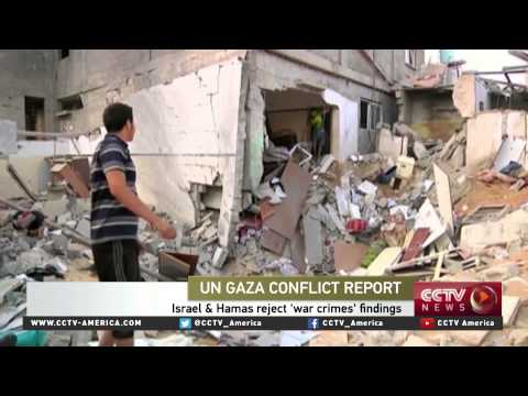 Wardah Khalid of FCNL discusses UN Gaza report