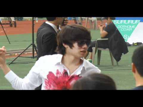 110827 Idol sports day  (Heechul)