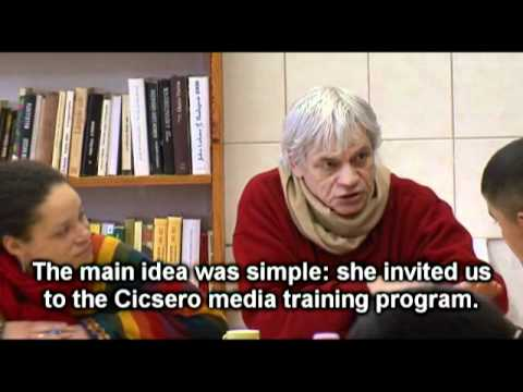 Cicsero: the story of a Roma news agency