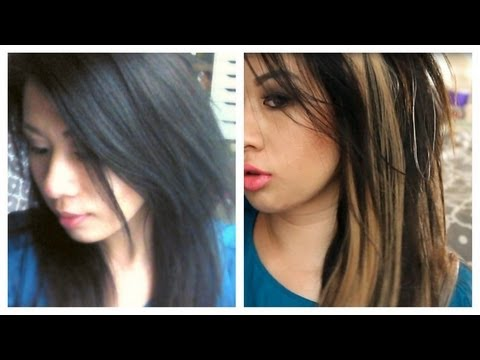 VPFashion Clip In Hair Extension Review! (Damage Free Highlights)
