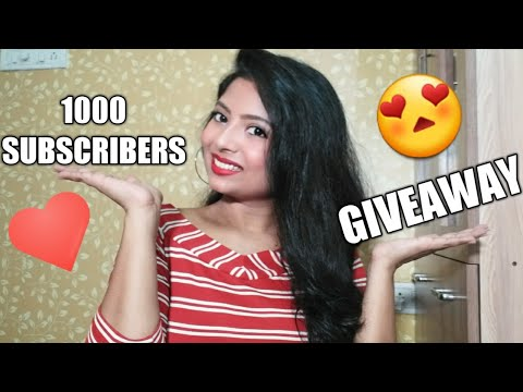 #Ask Me ANYTHING || GIVEAWAY || 1000 SUBS ACHIEVEMENT