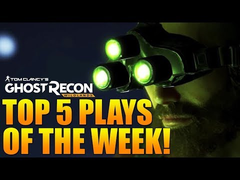 TOP 5 PLAYS OF THE WEEK #4 | Ghost Recon Wildlands PVP (Insane Ace, Triple C4, & More!)
