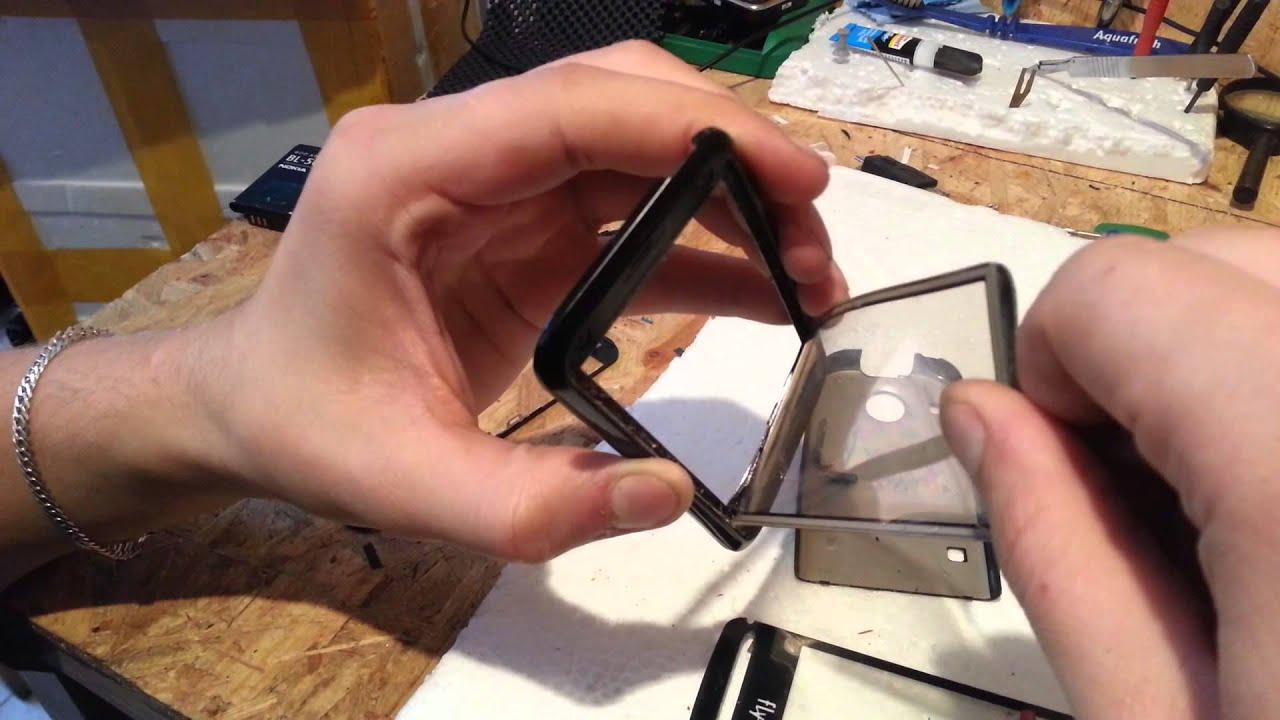 Замена сенсора на телефоне своими руками