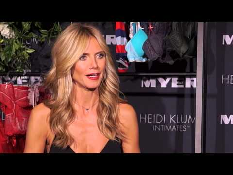 Interview with Entrepreneur and Model Heidi Klum - Couturing Exclusive