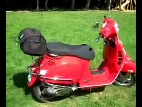 Ham Radio Scooter - Contact with KI6O - Vespa GTS 250ie and Yaesu FTM 10R