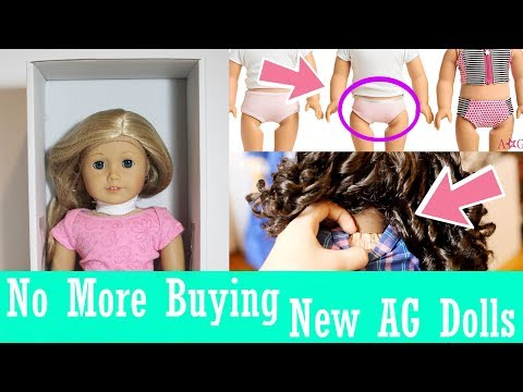 Why I'm Not Buying More New AG Dolls