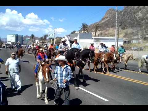 Cabalgata Guaymas-empalme ganadera