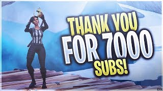 Thank You For 7000 Subscribers!