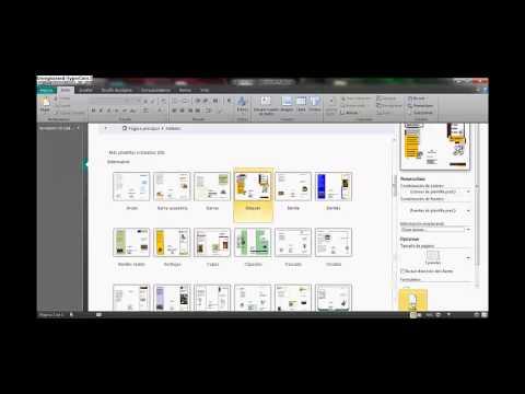 MICROSOFT  PUBLISHER 2007- 2010. Diseño de volantes, trípticos, afiches y otros documentos.