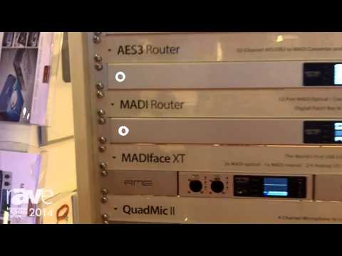 ISE 2014: RME Tells About Converters, Interfaces and Routers