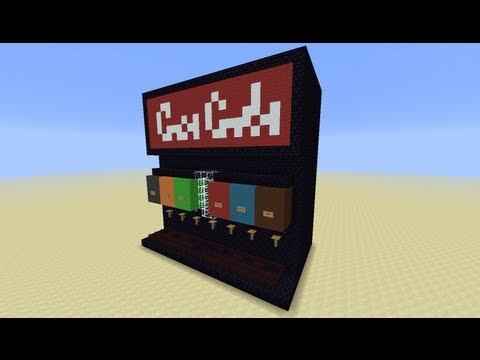 Soda Machine in Minecraft