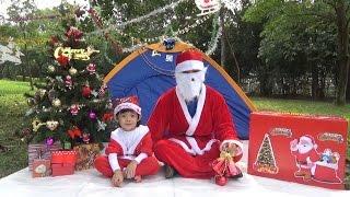 GIANT EGG SURPRISE OPENING CHRISTMAS BOX – Bóc hộp quà giáng sinh khổng lồ ❤ Anan Toysreview TV ❤