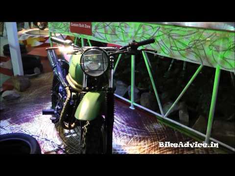 Mahindra Bikes (Uncut) - Auto Expo 2014 Delhi, India