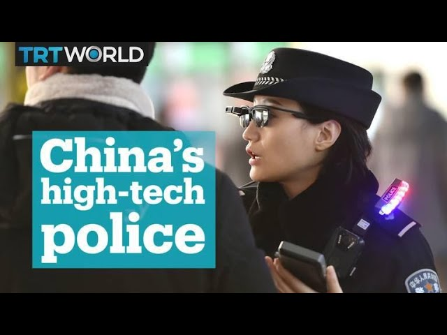 China's new facial recognition gadget