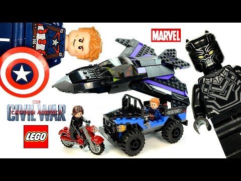 LEGO® Captain America: Civil War 76047 Marvel Black Panther Pursuit Speed Build