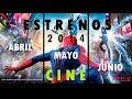Estrenos de Cine Películas 2014 (Abril - Mayo - Junio) terror/drama/acción y mas (Con Trailers)