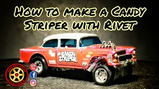 How to Make a Candy Striper With Rivet