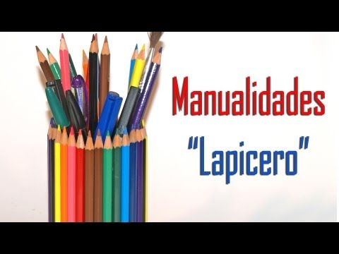Lapicero - DIY - Pencil-Case