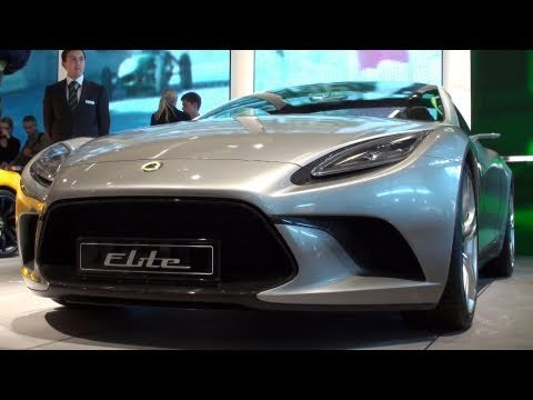 Lotus Elan Concept - Paris Mondial De L\'Automobile 2010