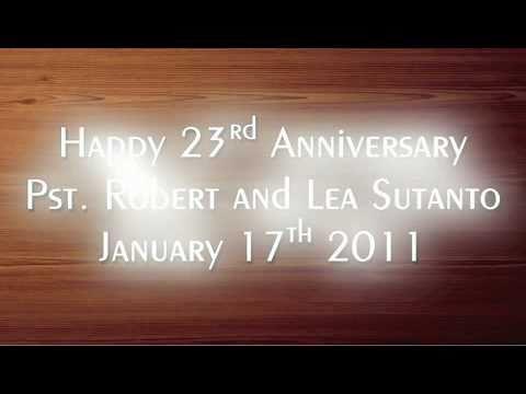 Unfailing Love - Robert Lea 23rd Anniversary 2011