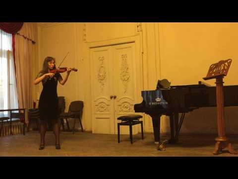 Регер, Макс - Соната для скрипки соло ми минор