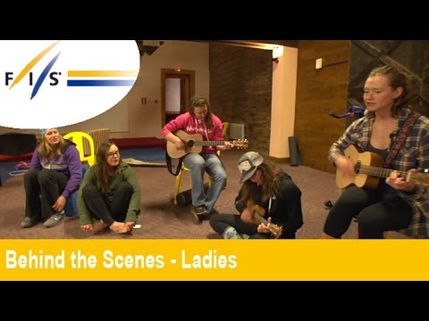 Ladies USA Ski Team sing a few songs - Behind the Scenes - Audi FIS Alpine Ski World Cup 2013