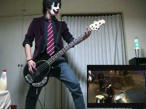 Slipknot - Psychosocial Live Bass Cover video