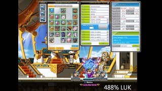 MapleStory Phantom Equips and Stats