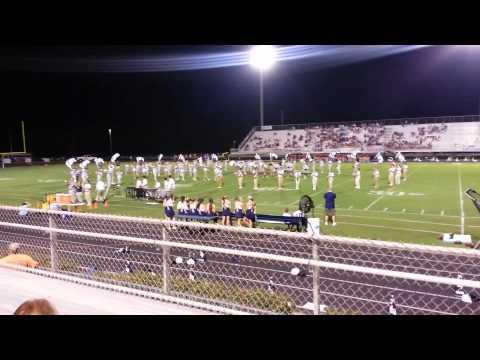 Alma Bryant High School Band - first game 2014