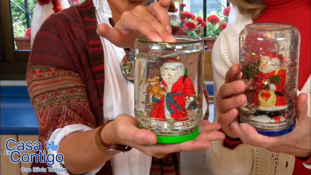 Como hacer un globo o bola de cristal para navidad youtube - Manualidades de bolas de navidad ...