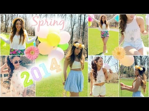 Spring 2014 trends + Outfit Inspiration with Niki and Gabi
