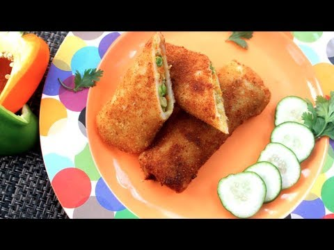 Chicken Veg Roll || Banglaadeshi Fast Food Style Roll