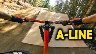 A-LINE IS MINT! Full Run Opening Weekend 2019 - Whistler Bike Park | Jordan Boostmaster