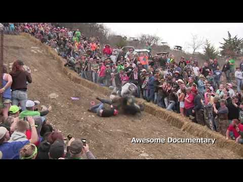 Extreme Barbie Jeep Down Hill Racing - RWP