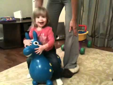 Brielle Bouncy Bounce video