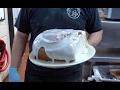 3 lbs Giant Cinnamon Roll / Lulu's Bakery Cafe, San Antonio TX
